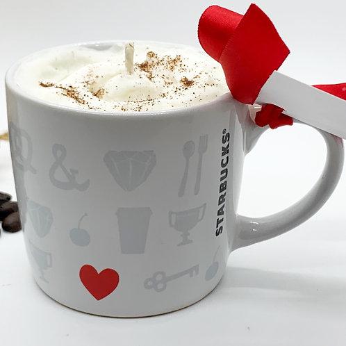 Hazelnut Latte Soy Candle - Starbucks Mug