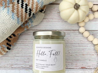 3 of the Best Fall Scented Candles
