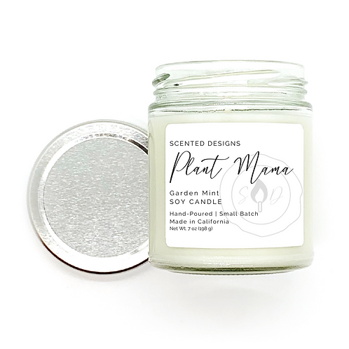 Plant Mama Soy Candle - Choose Scent