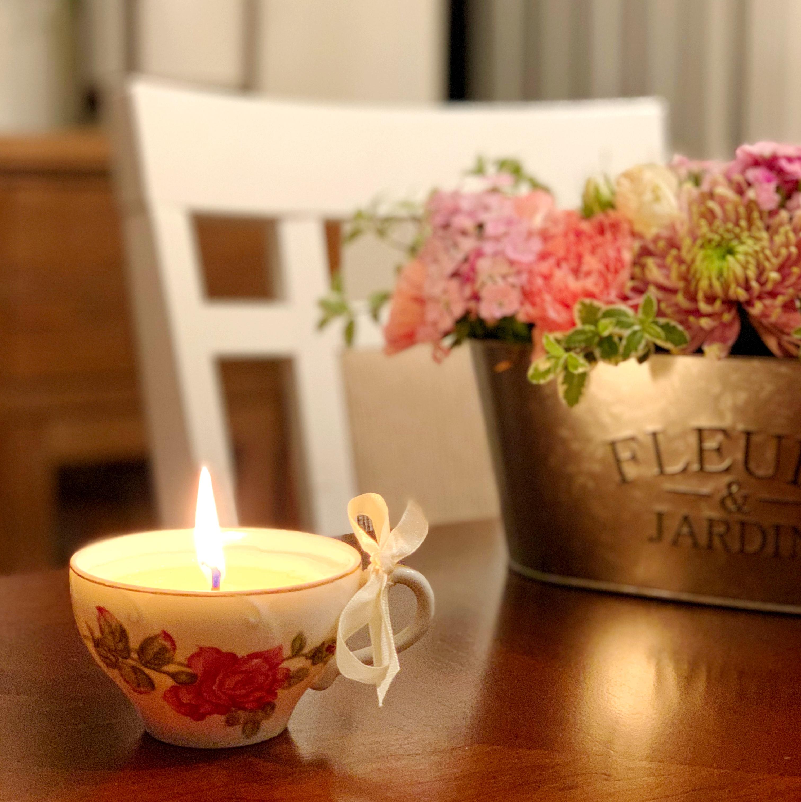 Teahouse: Teacup Candles