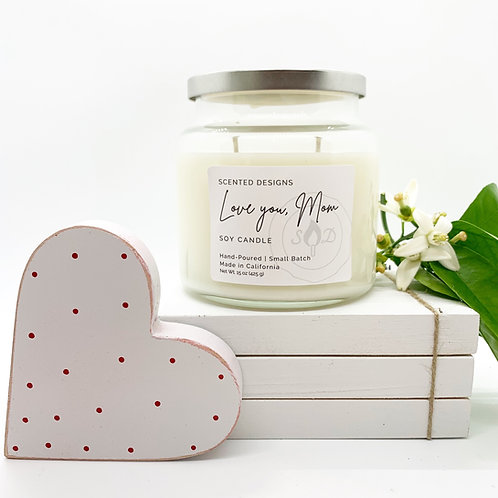 Gift for Mom - Apothecary Jar Candle