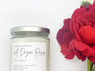 5 Romantic Candles for Valentine's Day