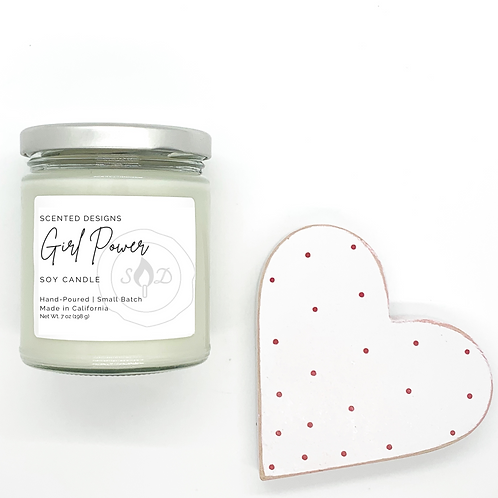 Girl Power Candle - Choose Scent