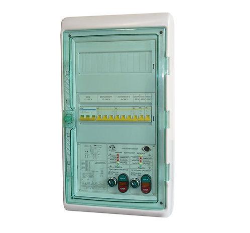 Шкаф ШкУТ 619.3В.3н электросиловой отопления на 3 ветви