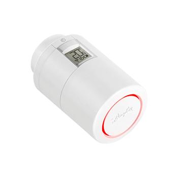 DANFOSS ECO, электронный радиаторный термостат