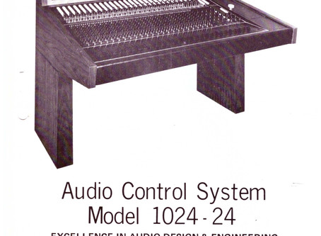 A Little Bit of Spectra History: Audio Control System Model 1024-24 (circa 1969-1976)