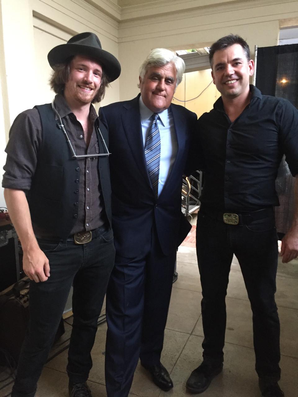 Met the legendary Jay Leno!
