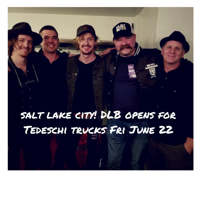 David Luning Band Opens for Tedeschi Trucks at Eccles Theater in Salt Lake City June 22