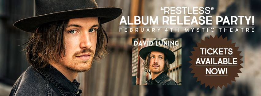 "It's Official! ""Restless"" Album Release Party happening at the Mystic Theatre Sat, Feb"