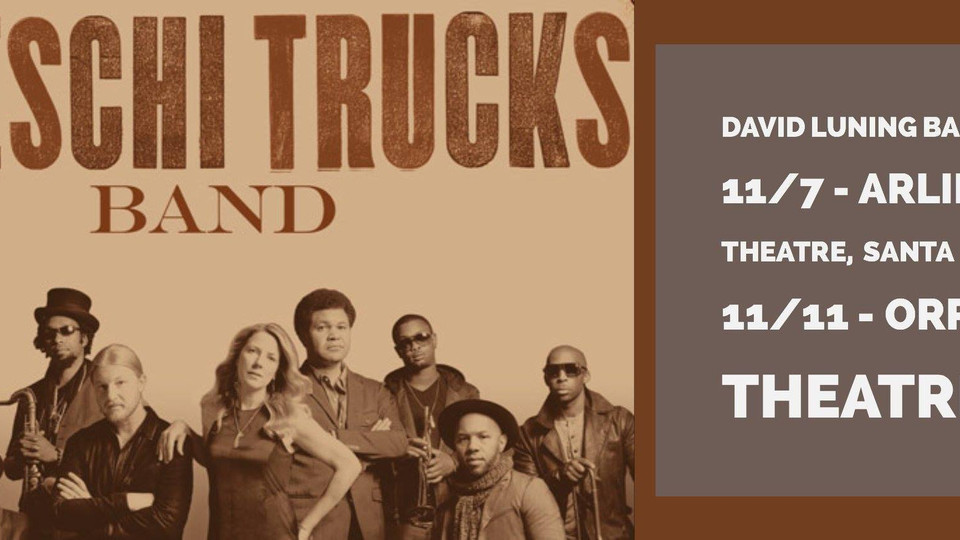 David Luning Band opens for Tedeschi Trucks for two dates.