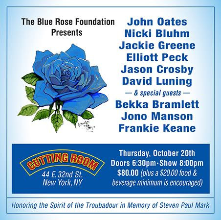 "Blue Rose Foundation Presents ""Spirit of the Troubadour"" at The Cutting Room - NYC"