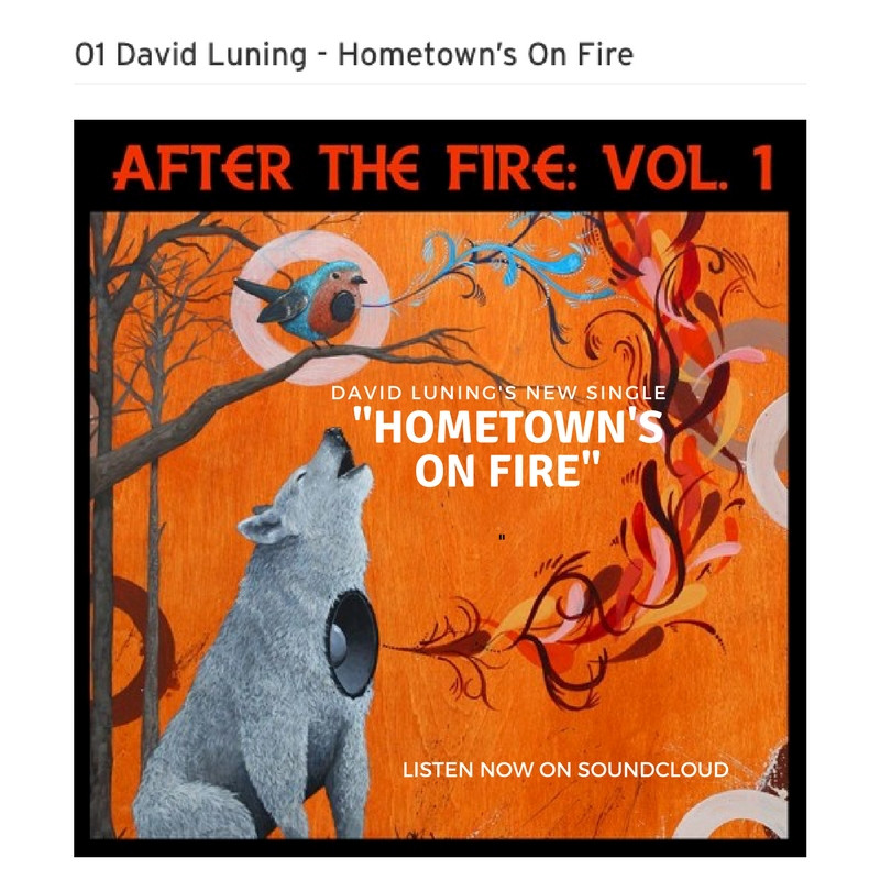 """New Single - """"Hometown's On Fire"""" from compilation album """"After The Fire: Vol.1&q"""