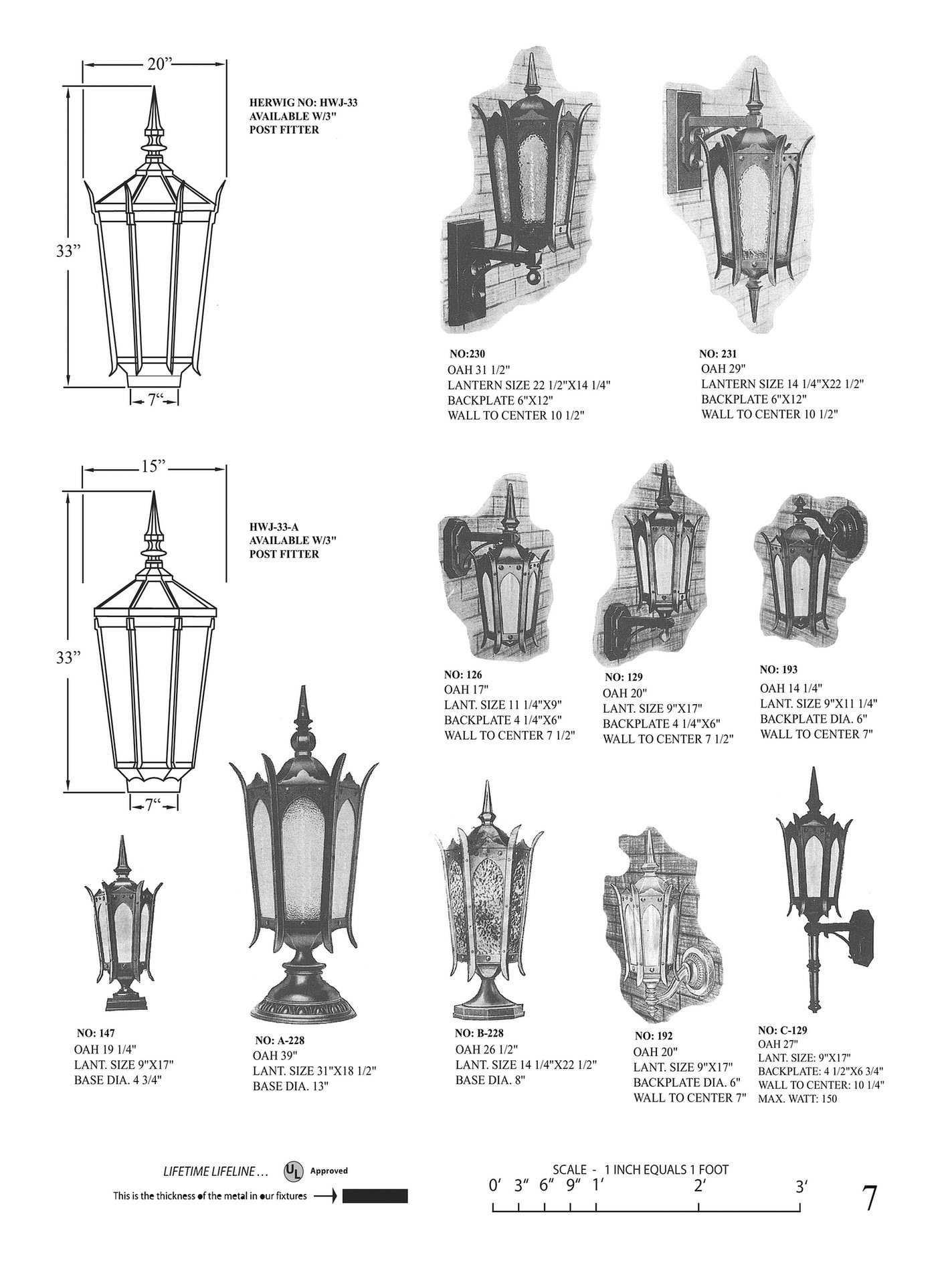 gothic antique lantern