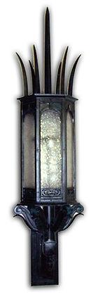 Bracket Lantern, gothic lantern, outdoor lighting, gothic lighting, heavy-duty lighting