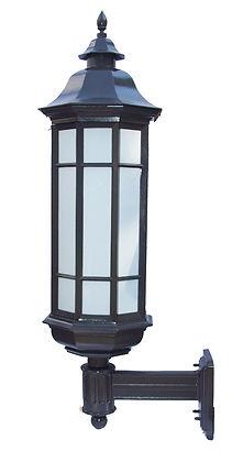 Bracket lighting, outdoor lighting, historic lighting, vintage lighting