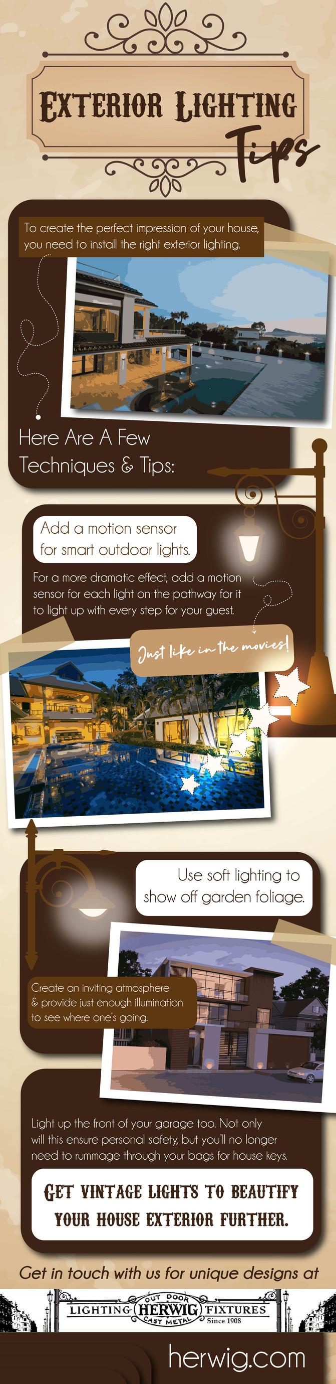 Exterior Lighting Tips