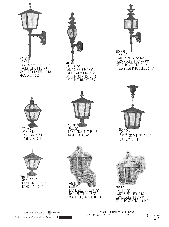 colonial lantern