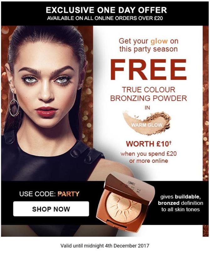 Fancy a Free AVON Bronzer worth £10?