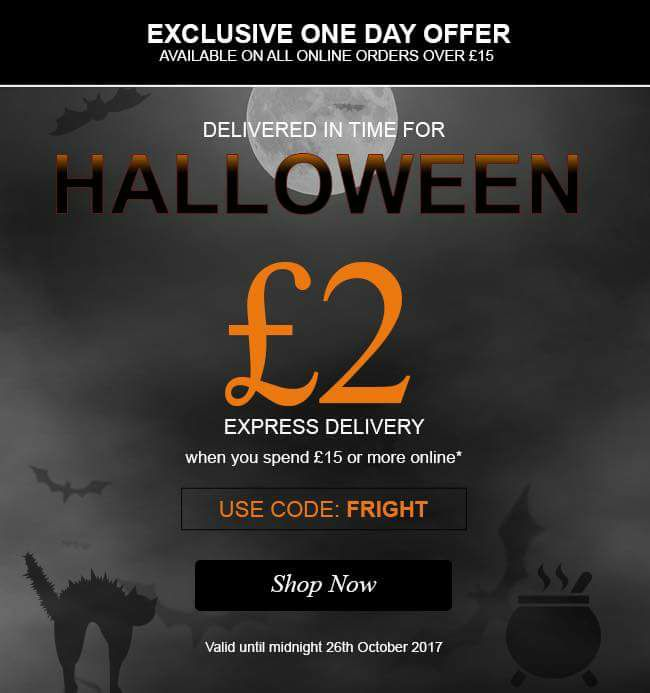 Today Only! Speedy Express Delivery!