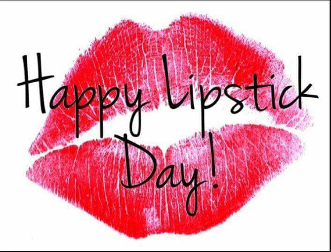 National Lipstick Day 29th July 2017