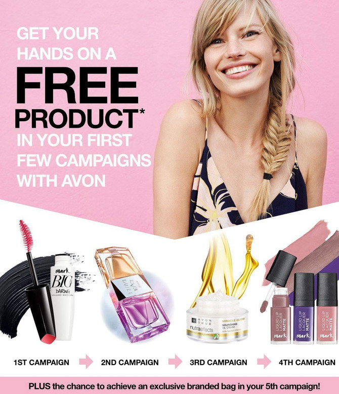 New Year New #Avon Joining Offer! Join Smarter Avon @ www.sellcosmetics.co.uk & check out how yo