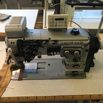 VERKOCHT adler 294 - 2 naalds 8mm naaldafstand, uitschakelbare naald, pneumatische middengeleiding
