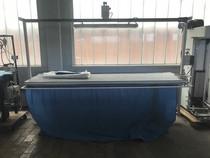 VERKOCHT - strijktafel gordijnen  3m x 75cm