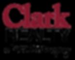Clark Realty logo + Locations tagline -