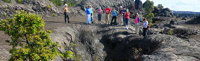Tour Group At Crack At Mauna Ulu