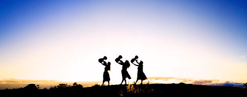 Hula Sisters At Sunrise