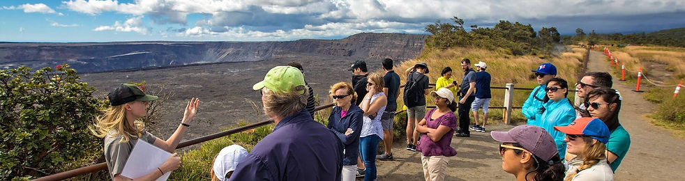Visitors Into The National Park