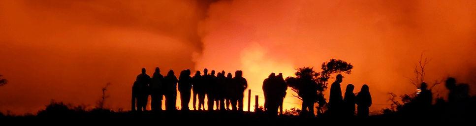 Halemaumau Crater Glow