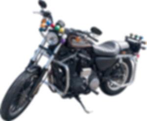 自動車学校 普通免許 大型免許 二輪免許 中型免許 準中型免許 牽引免許 大型特殊免許 KDS釧路自動車学校 大型二輪教習車ハーレー