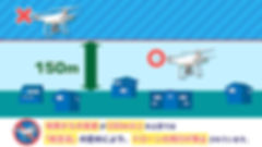 釧路ドローンスクール JUIDA 安全運行管理者 操縦士 ドローン 講習 ジドコン 高度150m以上での飛行禁止