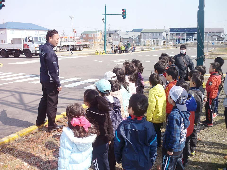 小学校交通安全教室
