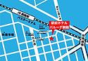 釧路 駅前ホテル JR釧路駅前 ビジネスホテル 格安ホテル パルーデ釧路 アクセスマップ