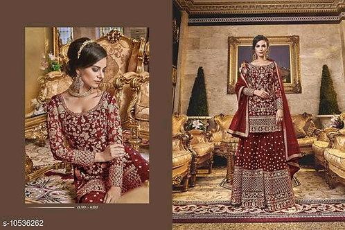 Anarkali Shalwar kameez Designer Dress Violet 6303