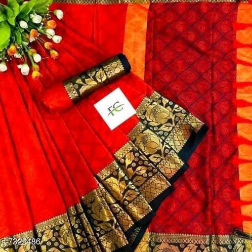 Beautiful Soft Cotton Silk Saree