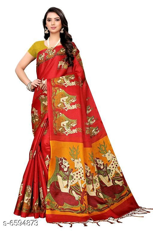 Beautiful Women' Khadi Saree