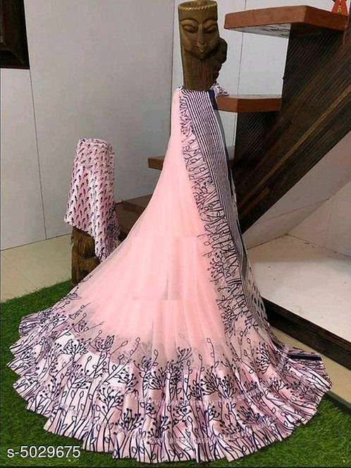 Tiya Art Georgette Saree