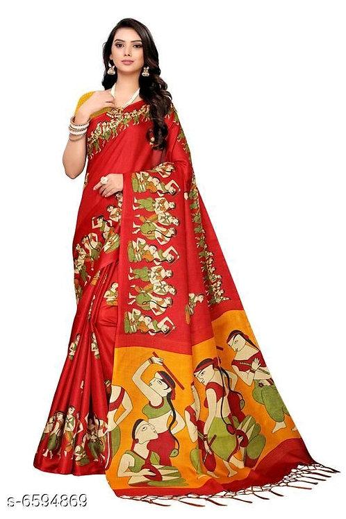 Beautiful Women' Khadi Saree