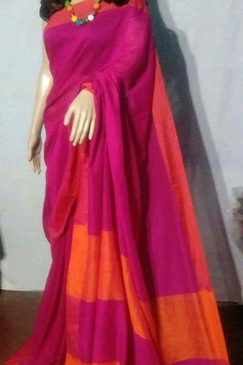Diva Attractive Khadi Saree