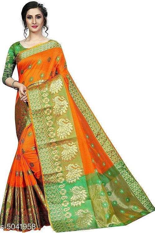 Beautiful Art Silk Women's Sarees