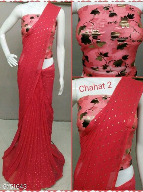 Alluring Chiffon Women Saree