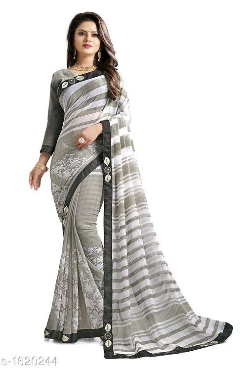 Trendy Chiffon Saree