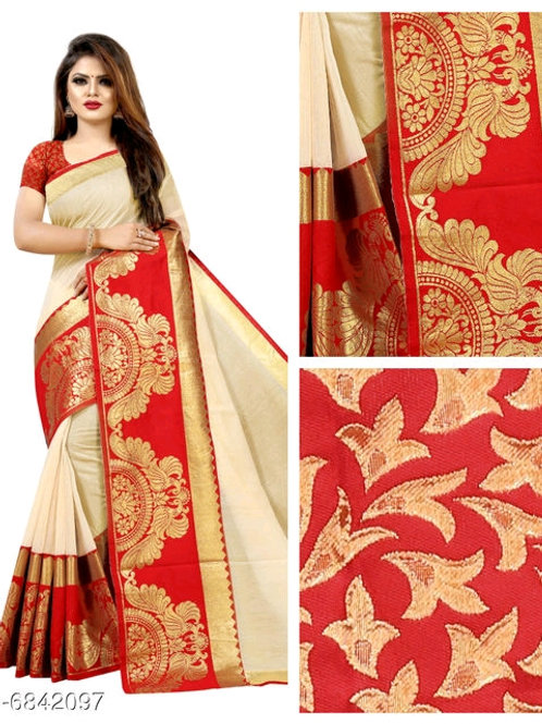 Fabulous Chanderi Cotton Saree
