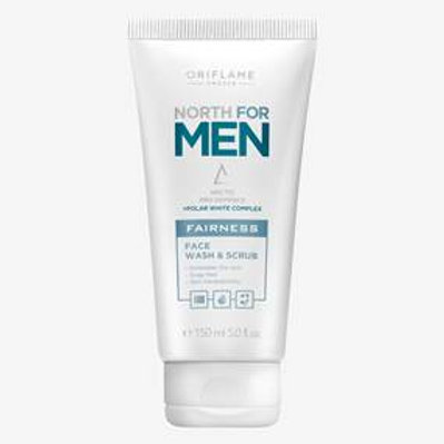 North For Men Fairness Face Wash & Scrub