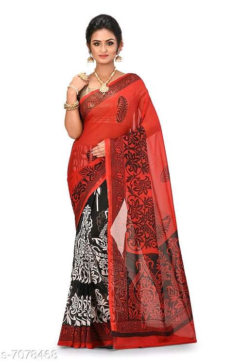 Trendy Women  Georgette Sarees