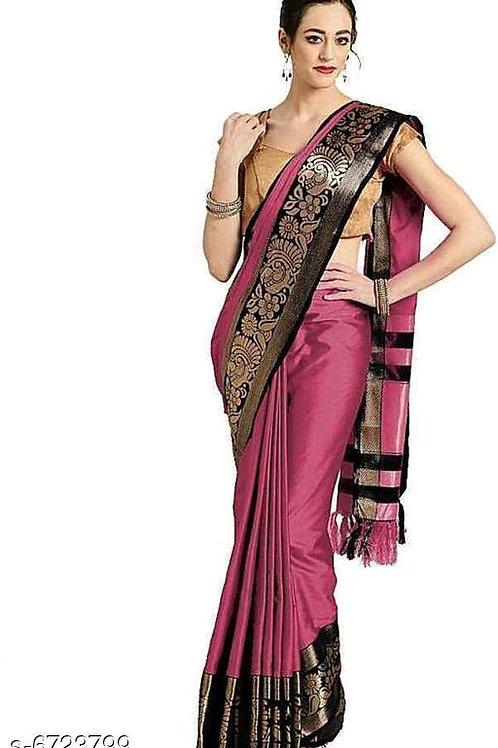 Siya Attractive cotton silk Sarees