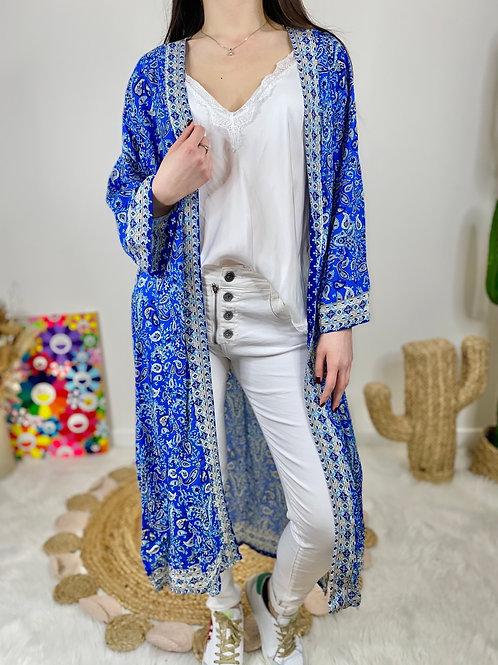 Kimono Bleu Roi